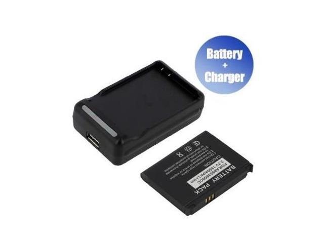 Yasurs™ Best Quanlity and Brand New Replacement Mobile / Smart Phone Battery + Charger (With USB Output) for Samsung I7500 (1350 mAh)