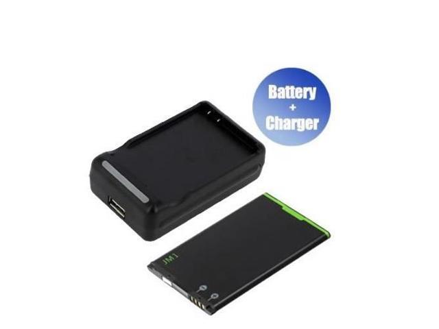 World™ Best Quanlity and Brand New New Replacement Mobile / Smart Phone Battery + Charger (With USB Output) for BlackBerry BlackBerry Bold 9900 ...