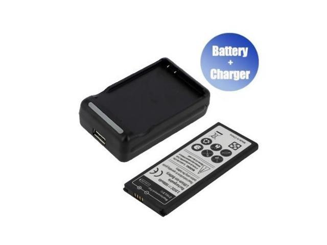 World™ New Replacement Mobile / Smart Phone Battery + Charger (With USB Output) for BlackBerry STL100-3 (1800 mAh)