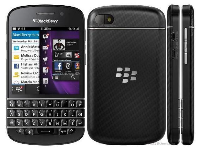 BlackBerry Q10 16GB Unlocked Smartphone, Black
