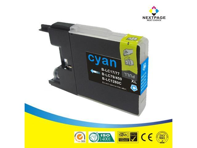 Nextpage Compatibe Ink Cartridges Replacement For Brother LC79XL, Cyan, High Yield, For Use With MFC-J5910DW, MFC-J6510DW, MFC-J6710DW, MFC-J6910dw