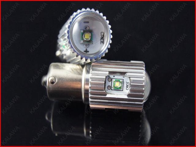1 pair 1157 25W white Fog light USA CREE chipset High Power LED lamp Brake light / Steer light FFF FREESHIPPING
