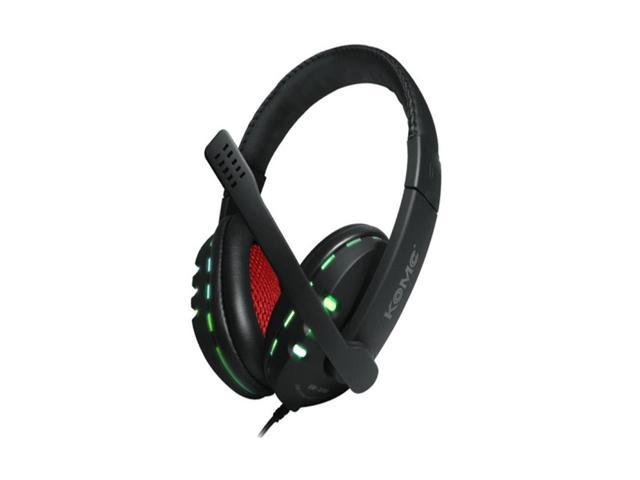 Kaxidy USB Surround Sound Headset with LED Mic