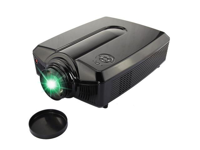 5.8 inch Support 1080P Native 1280*768 2*HDMI 2*USB S-video AV LED Home Theater Projector