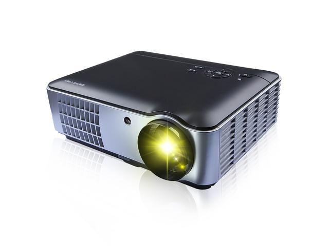 Bravolink Multifunction HD Home Theater Projector 1280*800 Native Resolution, 2800 lumens Support 1080P