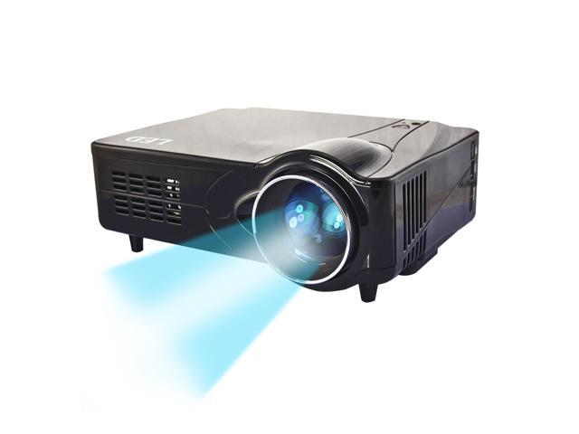 Bravolink D9HB 3D HDMI HD 1080P 2200LM 50000 Hours Home Theater Projector For Game Support Red & Blue 3D+ HDMI + YPbPr+ AV + S ...