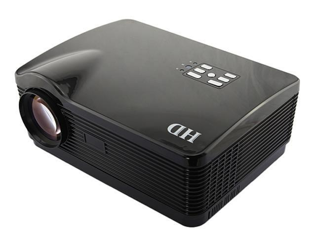 Ship from USA Support 3D 16:9/4:3 1080P 3*HDMI USB LED 3000 lumens Multimedia HD Business Projector Home Theater Support ...