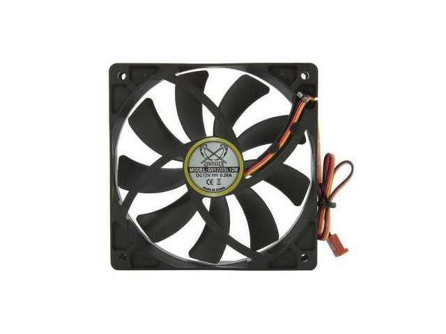Brand new Scythe SY1225SL12M Slip Stream 120mm Case Fan SY1225SL12M