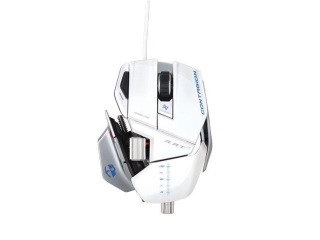 Mad Catz Cyborg R.A.T. 7 Gaming Mouse for PC and Mac - Gloss White