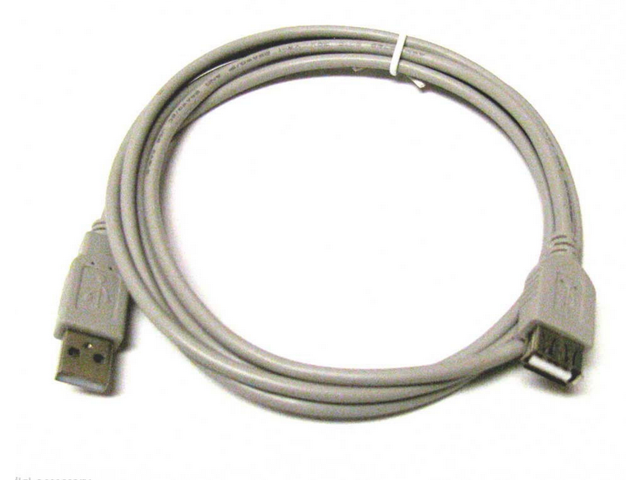 HIGH SPEED USB 2.0 EXTENSION White CABLE 6' A MALE to A FEMALE 6FT 6 FT New