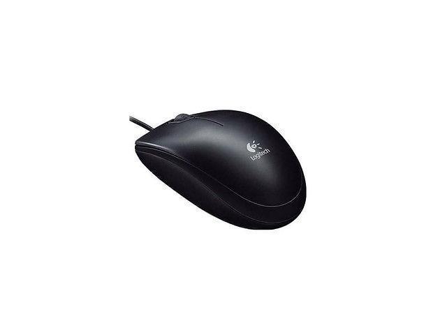 Logitech B100 Optical USB Mouse, 800 DPI, P/N: 910-001439