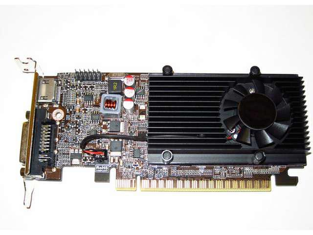 nVIDIA GeForce 1GB Low Profile Half Height PCI-E x16 Gaming Video Graphics Card