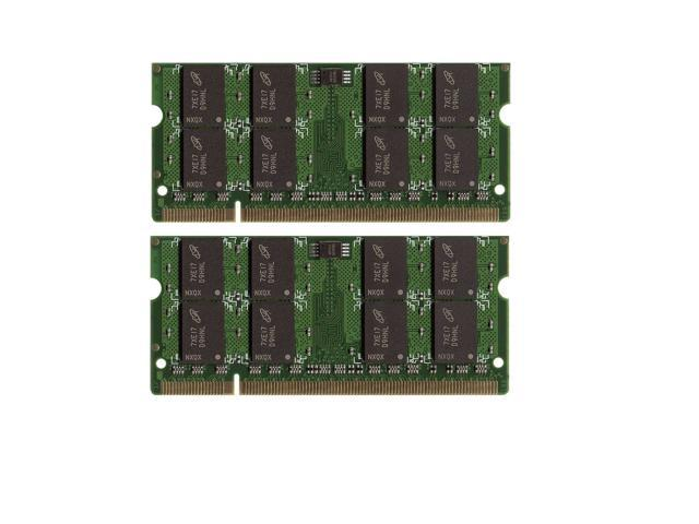 4GB 2x2GB PC25300 DDR2 667MHz LAPTOP SODIMM for Acer Aspire 7540