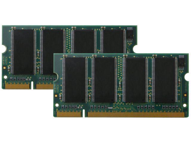 New 2GB 2x1GB PC2700 DDR333 200pin So-Dimm DDR Low Density Laptop Memory