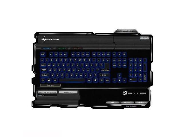 Sharkoon Skiller Gaming Keyboard 000SKSK