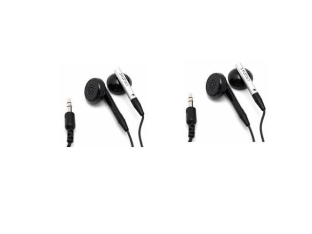 TWO (2) Pack Creative Earphones Headphones for MP3 CD Music Players