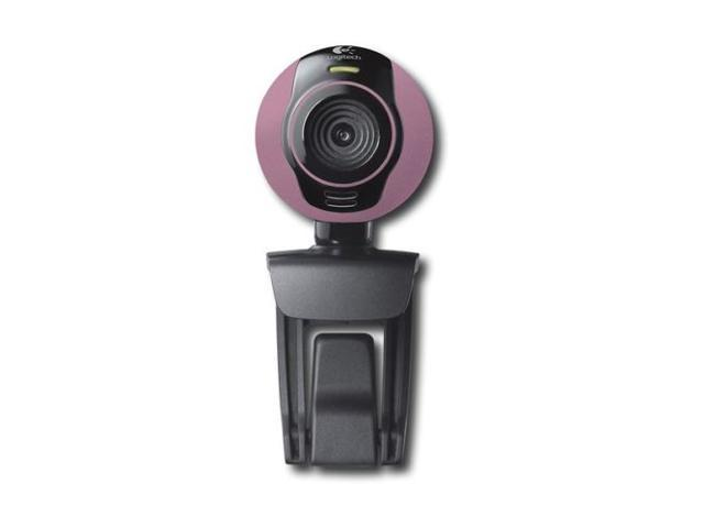 Logitech Webcam C250 Dusty Rose 1.3 MP w/ Built-in Microphone for XP Vista 7