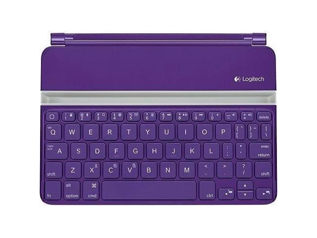 N Logitech Ultrathin Keyboard Mini Cover Purple for iPad mini