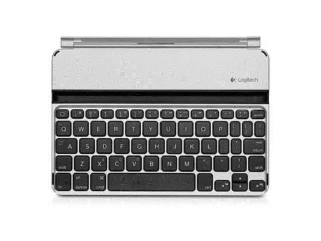 N Logitech Ultrathin Keyboard Mini Cover Silver for iPad mini