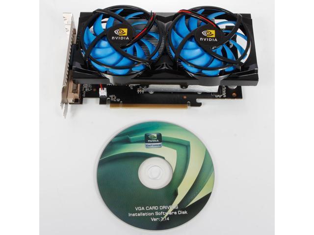 New GeForce GTX650 Durable New CPU NVIDIA 2GB 384Bit DDR3 PCI-E Graphics Card