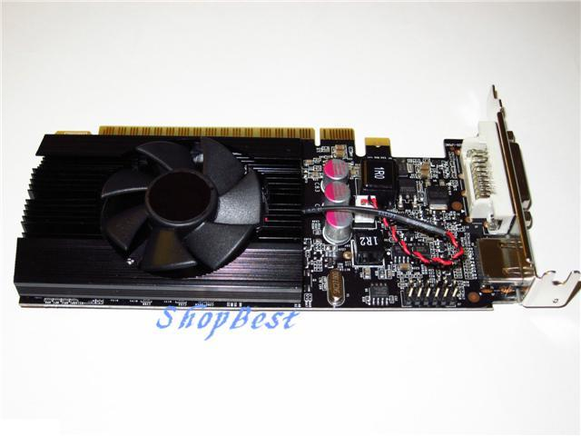 2GB Dell OptiPlex 745 755 760 SFF DT Half Height Low Profile Video Graphics Card