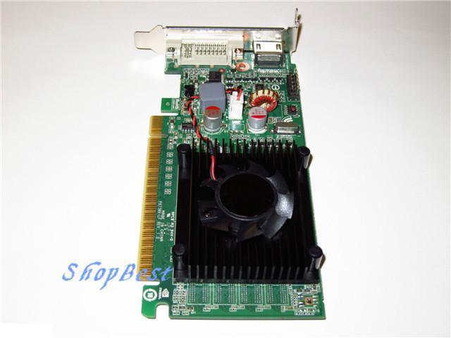 HP Pavilion Slimline Low Profile Half Height 512MB PCI-E x16 Video Graphics Card