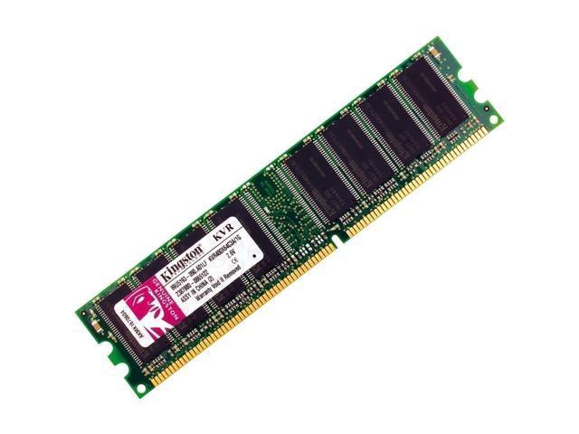Kingston 1 GB 400MHz PC3200 DDR 184- PIN DIMM Desktop Memory (KVR400X64C3A/1G)