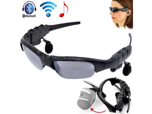 Flip-up Sunglasses Bluetooth Stereo Music Headphone for Phone/Tablet PC/Laptop