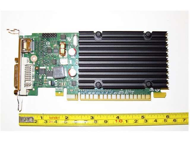 512MB Half Height Low Profile SFF Dual Monitor Display View Video Graphics Card