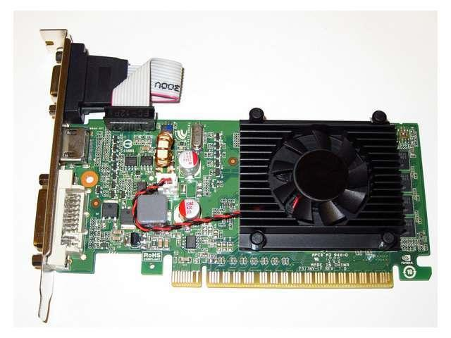 1GB 1024MB nVIDIA GeForce Single Slot PCI Express PCI-E x16 Video Graphics Card