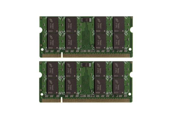 4GB 2x2GB PC25300 DDR2 667MHz LAPTOP SODIMM for Acer Aspire 9520