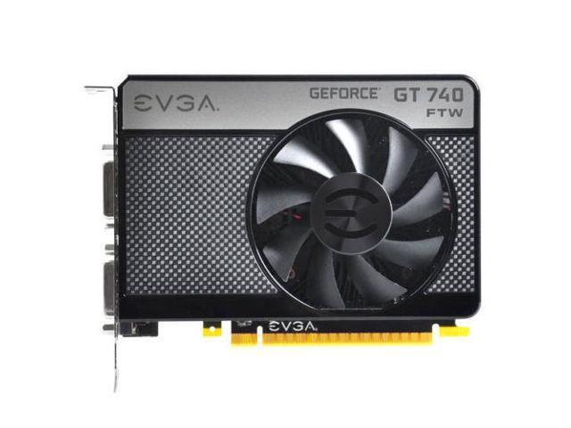 EVGA NVIDIA GeForce GT 740 FTW 2GB GDDR5 2DVI/Mini HDMI PCI-Express Video Card