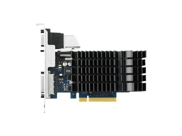 Asus NVIDIA GeForce GT 730 2GB DDR3 VGA/DVI/HDMI PCI-Express Video Card