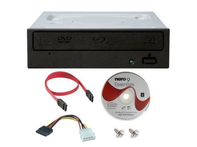 Pioneer BDR-209DBK 16X Internal Blu-ray Burner CD DVD Drive +Software+SATA Cable
