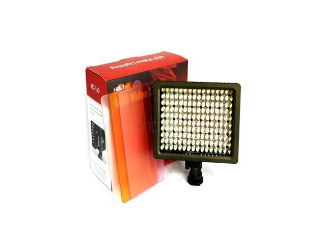 Super Power HD-160 LED Video Lamp Light Camera Lighting For Canon Nikon Panasonic A HD 160