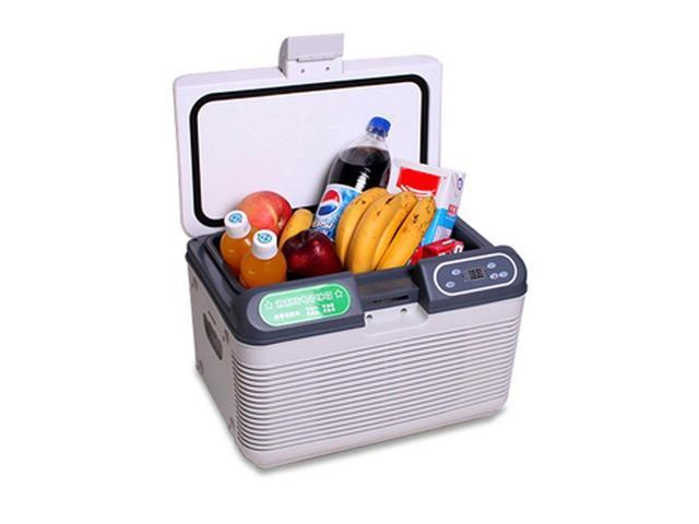 Laiputuo 12L Protable Semiconductor Car Cooler and Warmer Electronic Fridge with Dual Core Cooling System Storage of ...