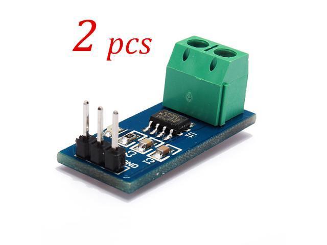 2PCS 30A Current Sensor Module Sensor Range Module Board Durable Good for ACS712T ELCTR