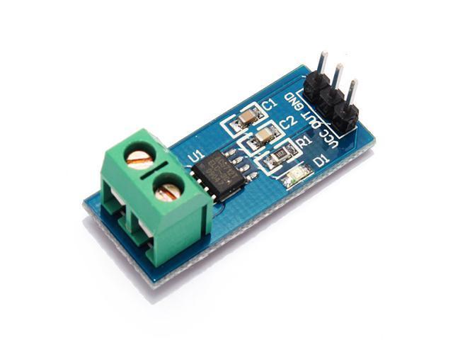 10PCS 30A Current Sensor Module Sensor Range Module Board Durable Good for ACS712T ELCTR