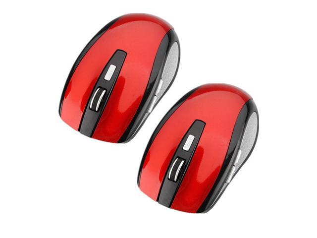 2pcs 2.4GHz 1600DPI Optical USB Wireless Mouse Mice For PC Laptop HP Dell Toshiba ACER Sony Thinkpad