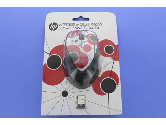 HP Wireless Mouse X4000 w/ Laser Sensor - Poppy