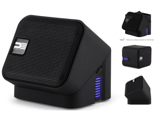 Democracy DEG100B Wireless Bluetooth Portable Speaker (Black)
