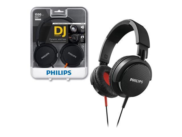 Philips SHL3100BK Black Dynamic Solid Bass 1500mW Foldable DJ Stereo Headphones
