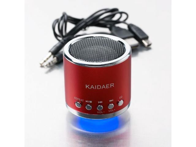 Music Angel Kaidaer MN-02 Micro SD Card Mini Music Speaker Portable Speakers Support U-Disk FM Radio for Mobile Phone Tablet PC