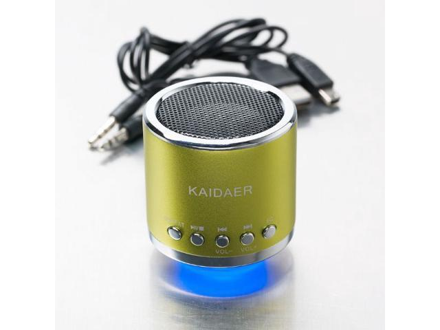 Mini Speaker Music Angel Kaidaer MN02 USB Computer Speaker Multimedia Portable Speaker for Tablet PC Phone TF card MP3