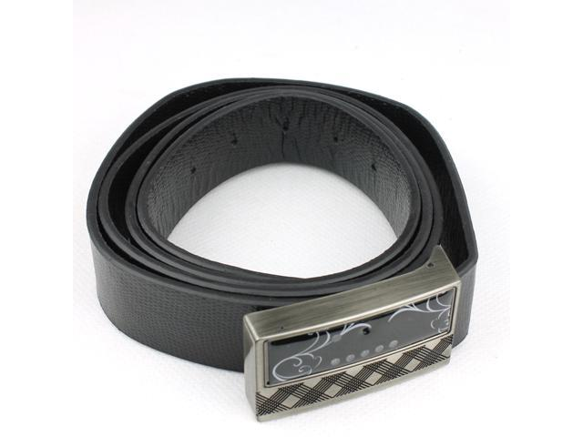 Spy Belt Buckles HD 1080P Leather Belt Camera with IR Night Vision & Motion Detection & Remote Control