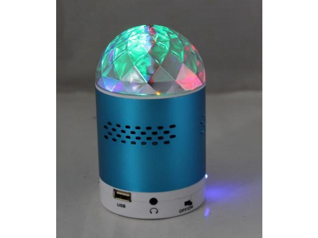 Mini Speaker SK#20 LED Light Digital MP3 Speaker with FM Radio Support USB/TF/Micro SD card Plug Music Player for Mobile Phone Laptop Computer