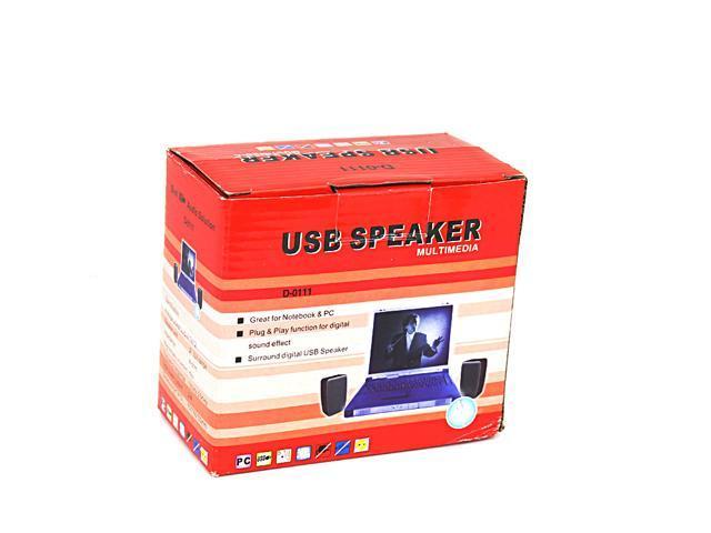 USB 5.1 CH 3D Digital Multimedia USB Speaker Built in Sound Card for Notebook & PC