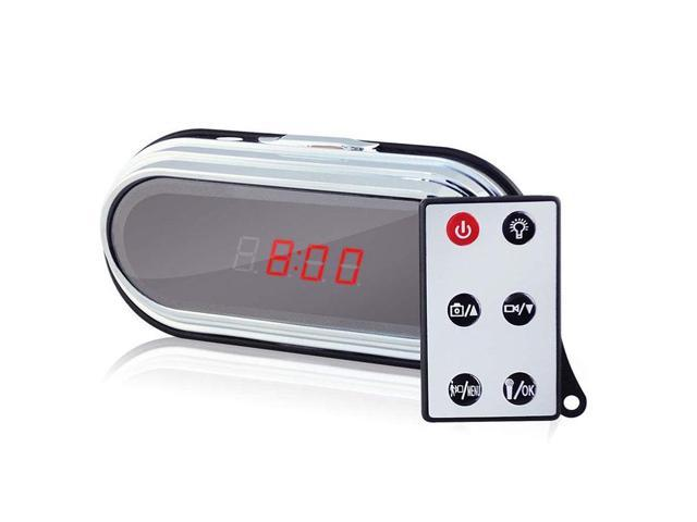 Multi-funtional Full HD Camera Clock 1080P Spy Camera with Motion Detection & Remote Control