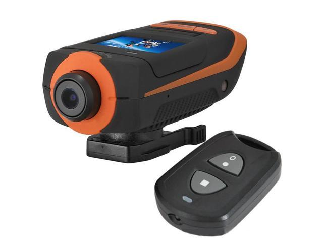 Action Sport camera AT90 Helmet Camcorder DVR Ambrella CPU+30M Waterproof shell+Remote control+5.0 CMOS sensor +1.5