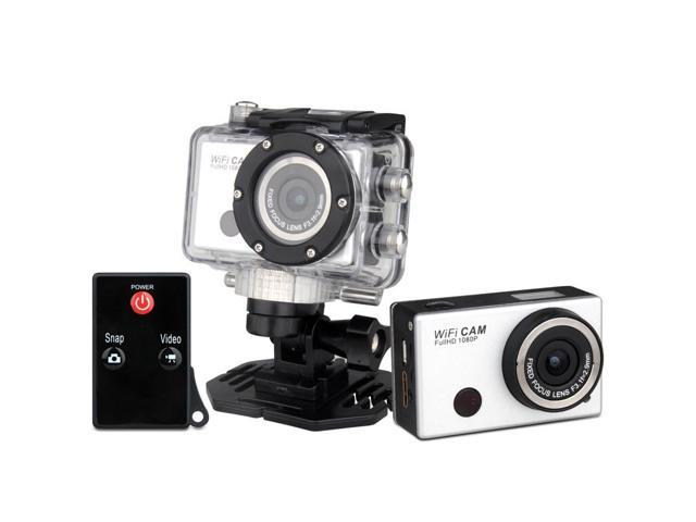 Full HD 1080P Sports Go Pro hero 3 Style Camera With WIFI G386 Control By Phone Tablet PC 1080P Full HD 40 meters Waterproof Camera ...